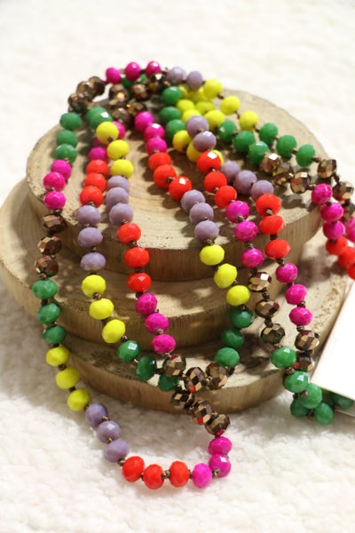 Tutti Frutti Point Of Perfection Beaded Necklace