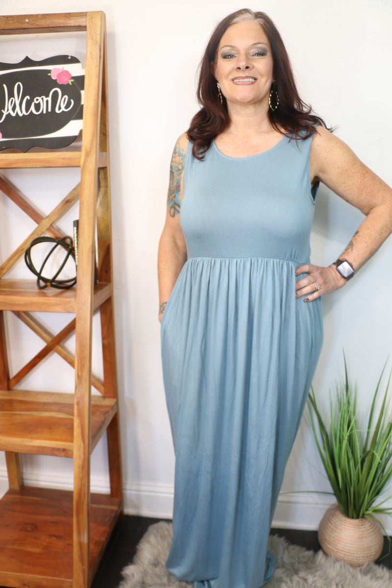 Take It Easy Maxi Dress In Multiple Colors Sizes 12-20