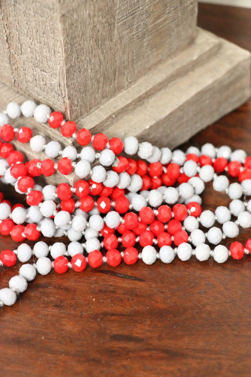 Cherry Icee Point Of Perfection Beaded Necklace