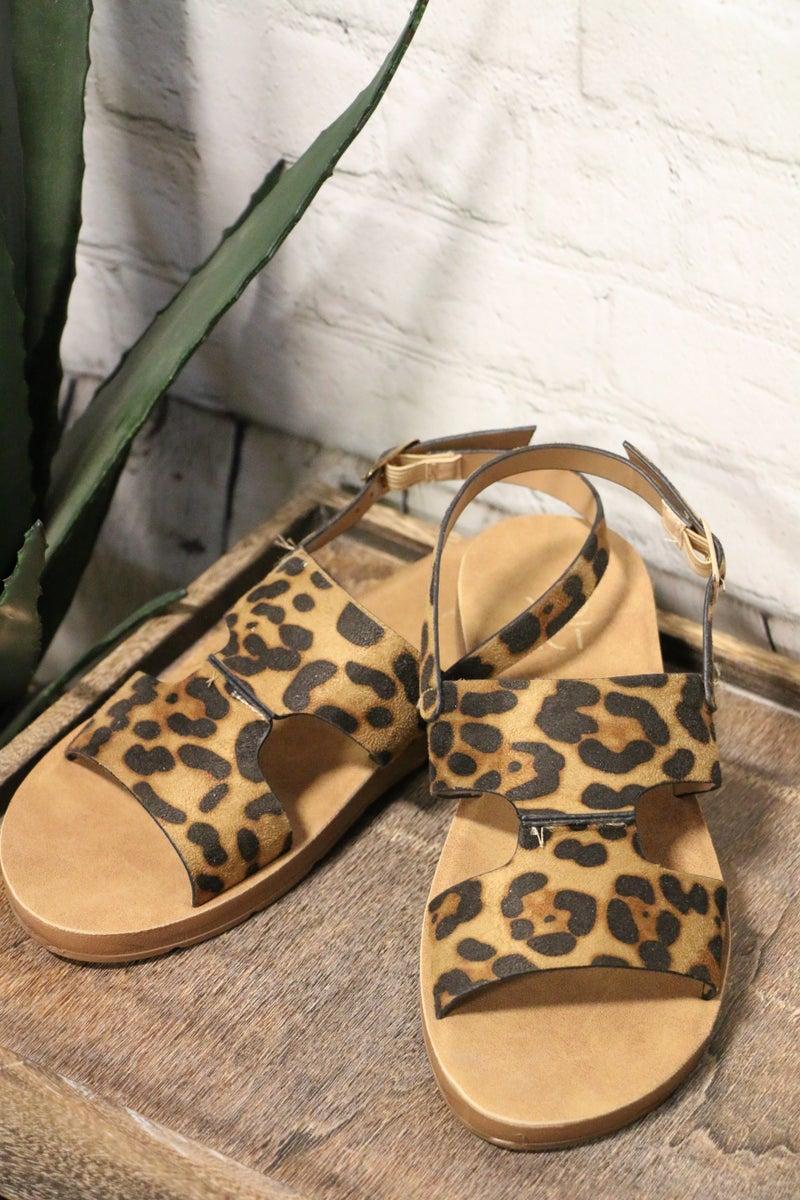 Lovin' My Leopard Sandals