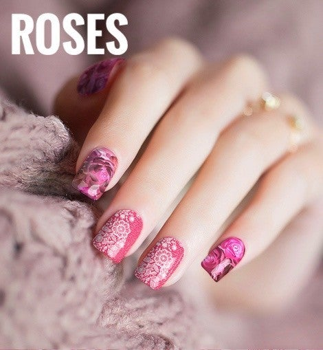 Nail Polish Stickers in Multiple Prints *Final Sale*