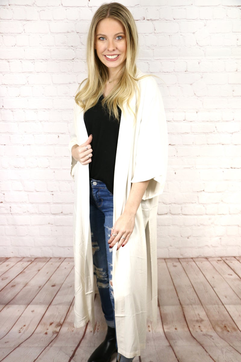 What A Dream Solid Cardigan in Multiple Colors - One Size Fits Most