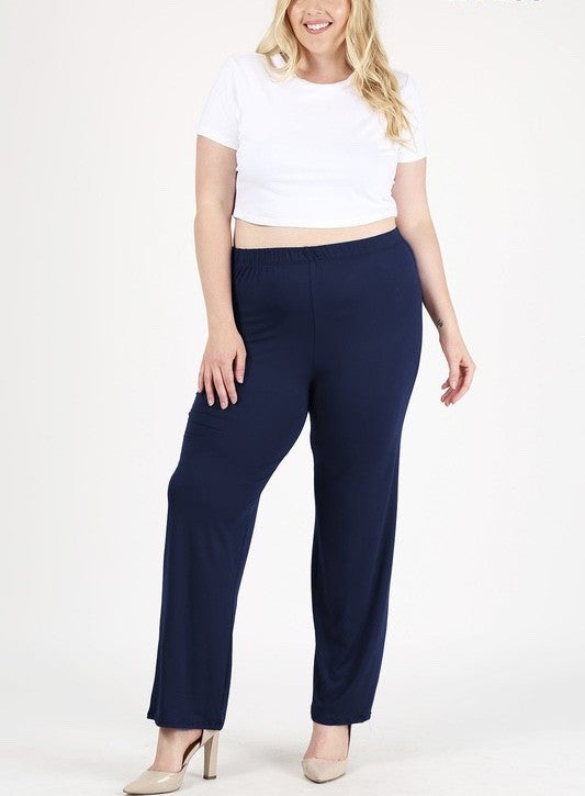 High Waist Relax Fit Pant in Multiple Colors - Sizes 22-30