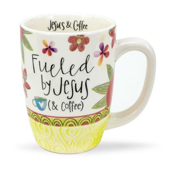 Fueled by Jesus & Coffee Mug