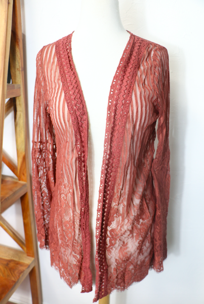 Headed to Happy Lace Cardigan in Multiple Colors - Sizes 4-18