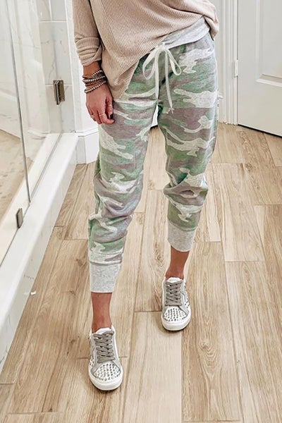 Oh So Soft Camo Joggers - Sizes 4-12