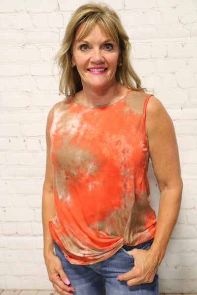 Just Be Free Tie Dye Tunic In Multiple Colors- Sizes 4-20