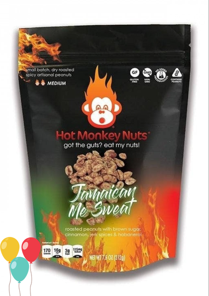 Hot Monkey Roasted Peanuts in Multiple Flavors *Final Sale*