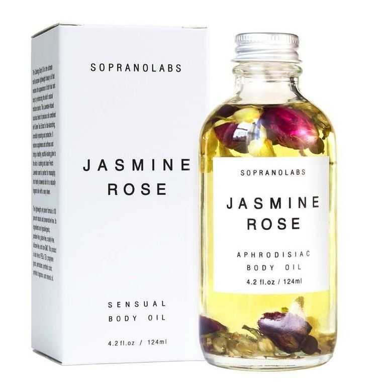 Jasmine Rose Sensual Body Oil - 4.2 oz