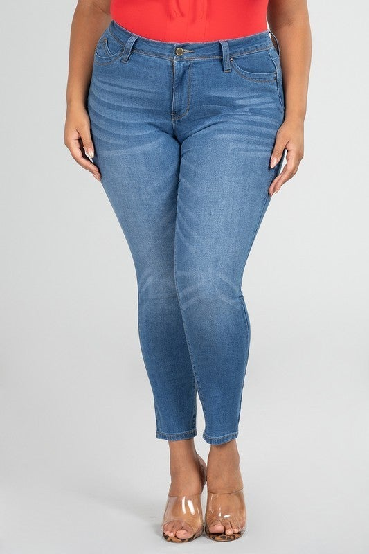 The Missy Skinny Jean in Multiple Colors - Sizes 14-20
