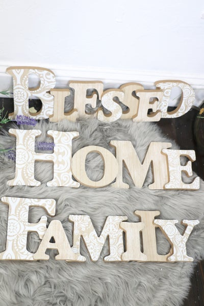 This Is Lovely Cutout Word Table Topper In Multiple Sayings