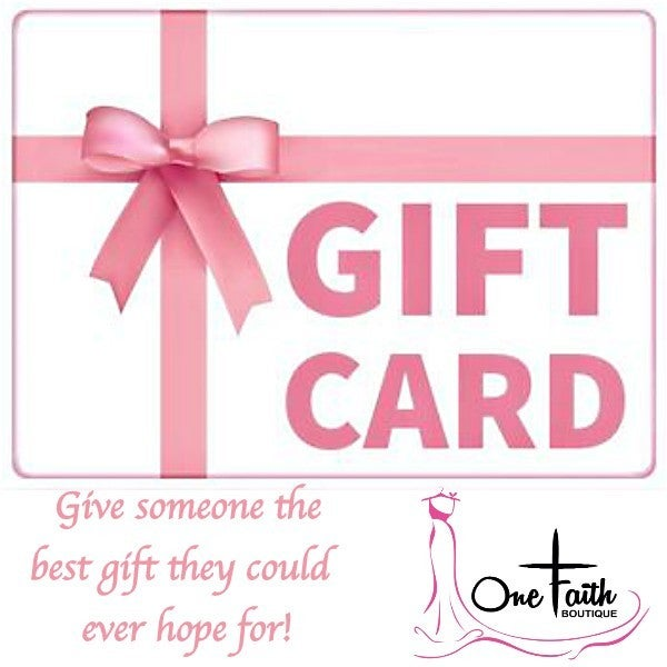 One Faith Boutique Gift Card *Final Sale*