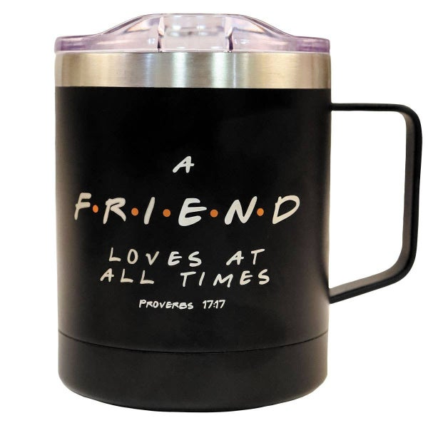 A Friend Loves At All Times Stainless Steel Mug