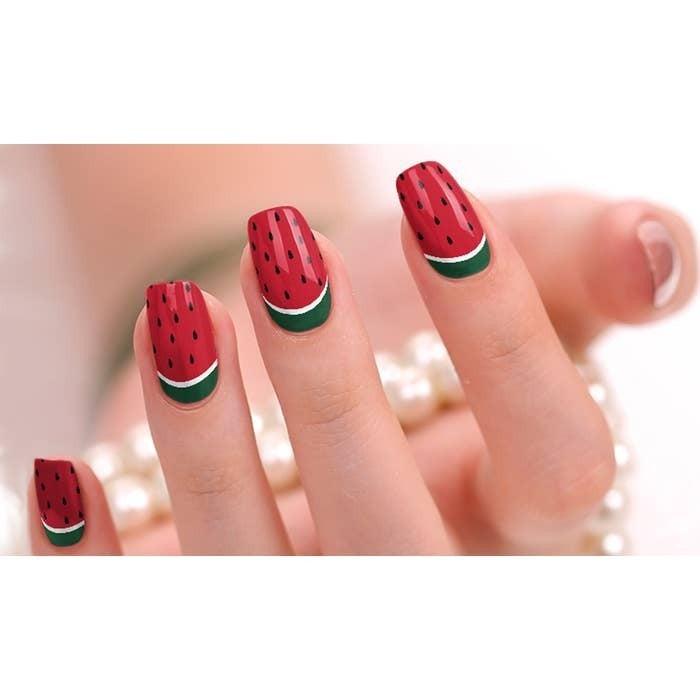 Nail Polish Stickers in Seasonal Prints *Final Sale*