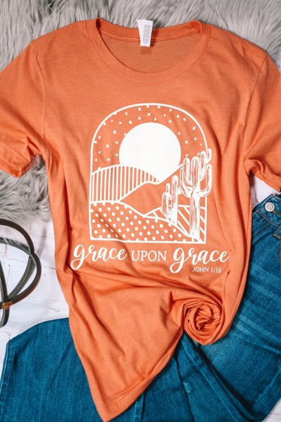 Grace Upon Grace June Month Of Ministry Tee Shirt