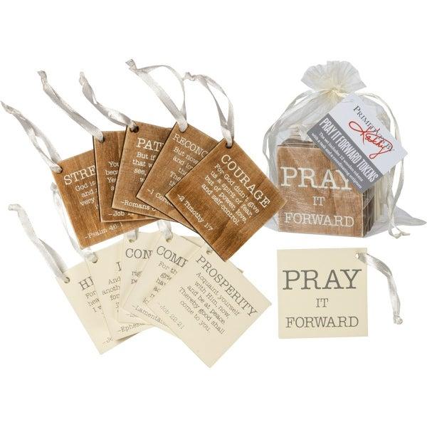 Pray It Forward Love Tokens - Set Of 12