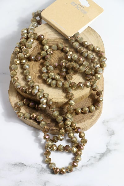 Old Money Point of Perfection Beaded Necklace