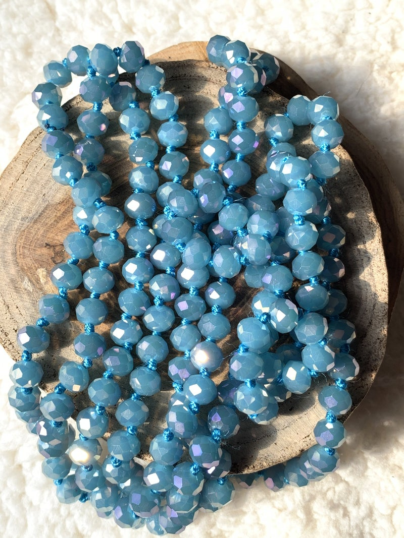 Snow Queen Point Of Perfection Beaded Necklace