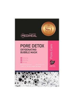 Pore Detox Bubble 5-Pack Facial