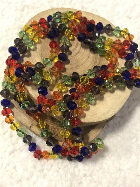 Jolly Rancher Point Of Perfection Beaded Necklace