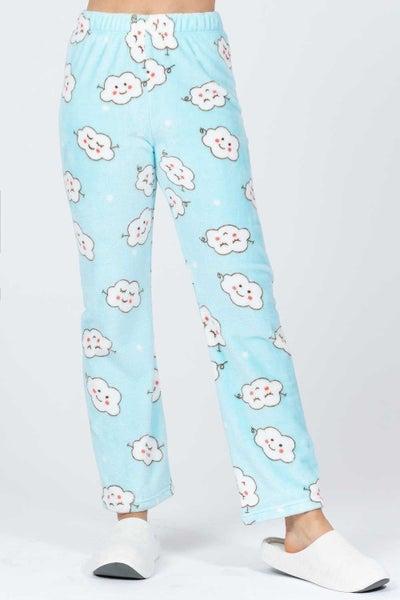 Sleeping in the Clouds Pajama Bottoms - Sizes 4-10
