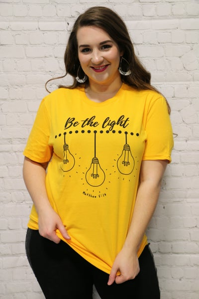 Be The Light March Tee Shirt Of The Month- Sizes 4-20