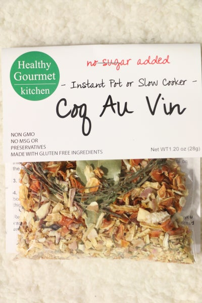 Coq Au Vin Instant Pot or Slow Cooker Seasoning- 1.20oz *Final Sale*