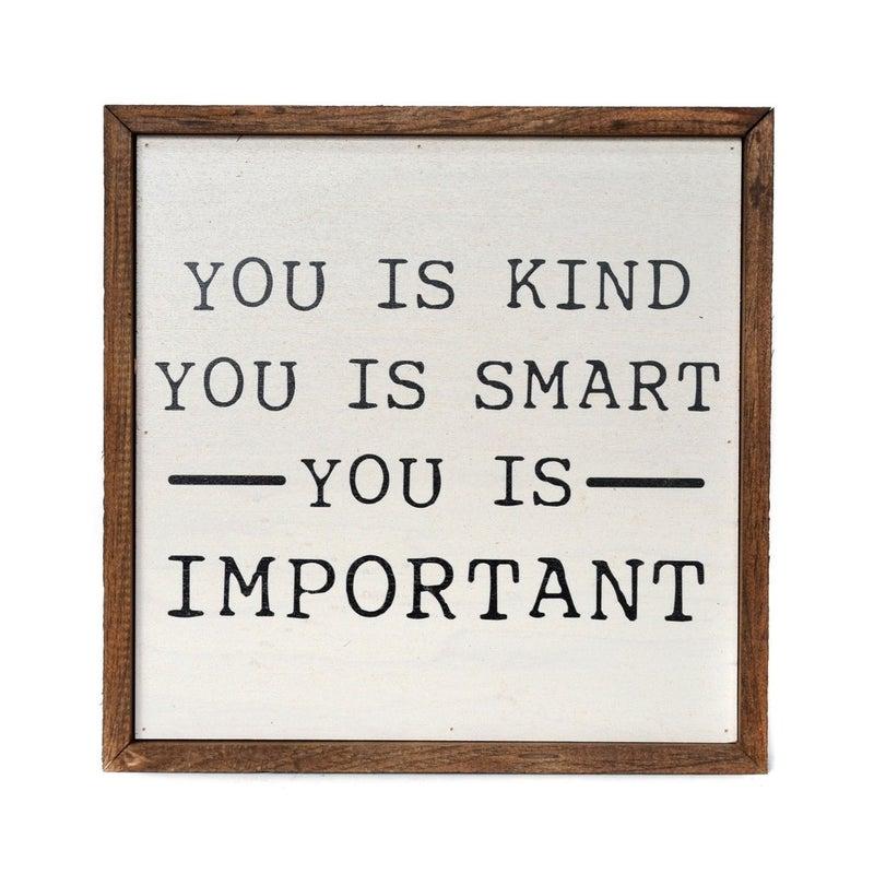 You is Kind Modern Farmhouse Wall Decor