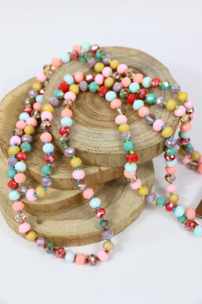 Cupcake Point Of Perfection Beaded Necklace
