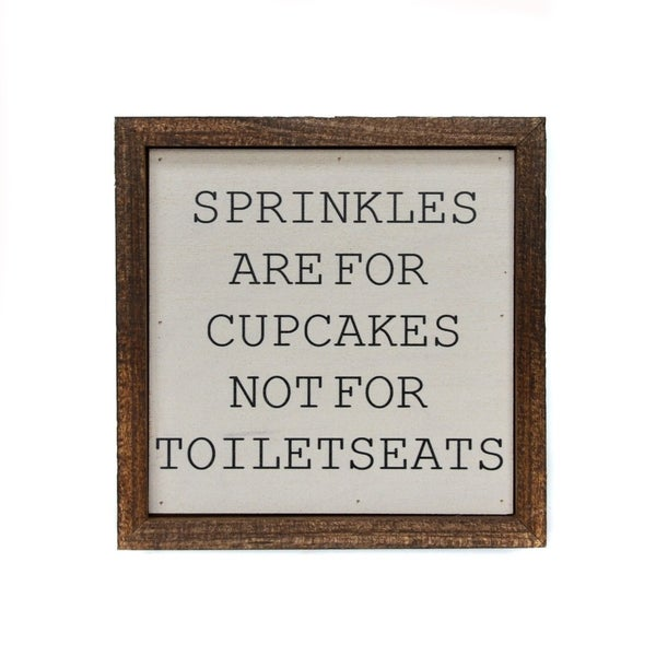 Sprinkles are for Cupcakes Modern Farmhouse Decor