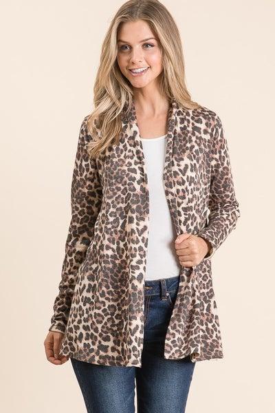 Wait For It Leopard Cardigan - Sizes 4-20