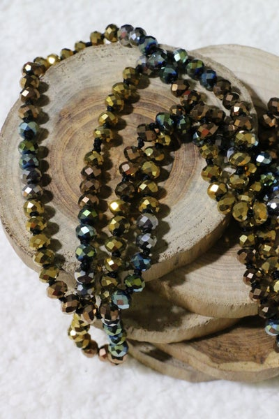 Family Falltime Point Of Perfection Beaded Necklace