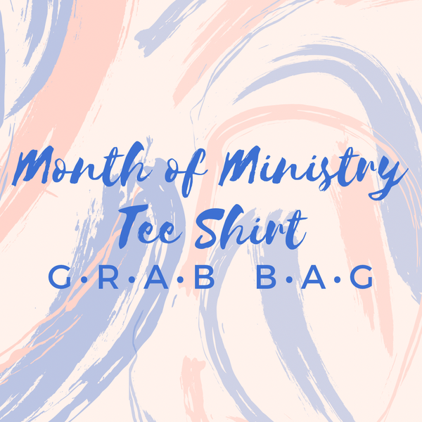 Month Of Ministry Graphic Tee Mystery Bundle - Sizes 4-20