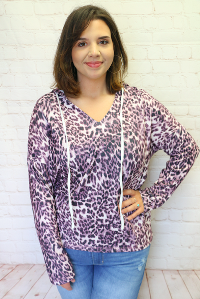 Into The Wild Leopard Hoodie In Multiple Colors- Sizes 4-20