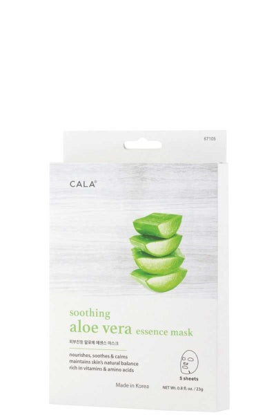 Soothing & Hydrating Facial Masks in Multiple Nutrients