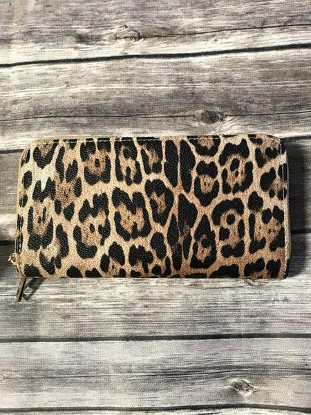 Sweet & Sassy Leopard Wristlet Wallet