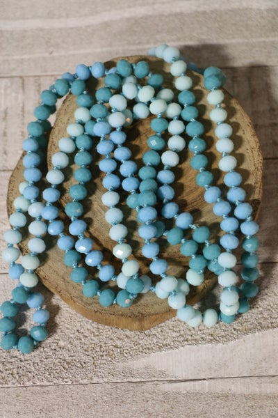 Tidal Wave Point of Perfection Beaded Necklace