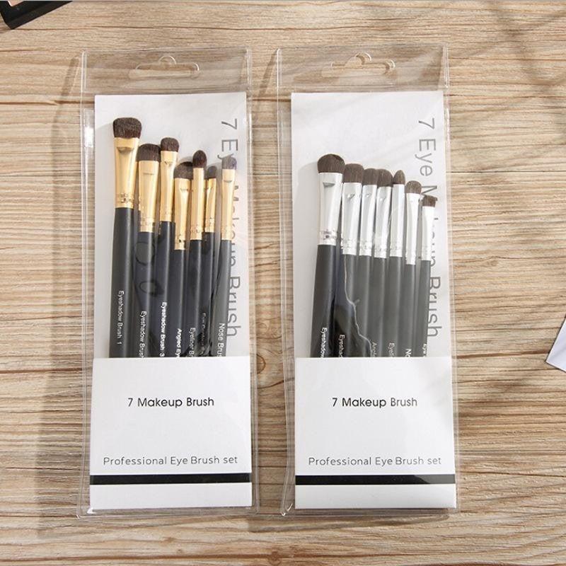 7 Piece Professional Eye Brush Set