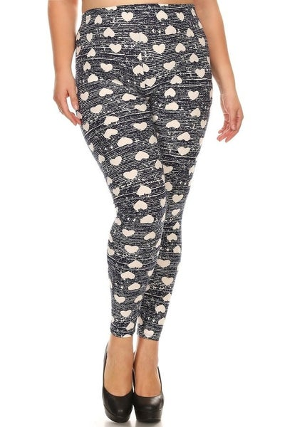 Loving These Heart Leggings - Sizes 4-12