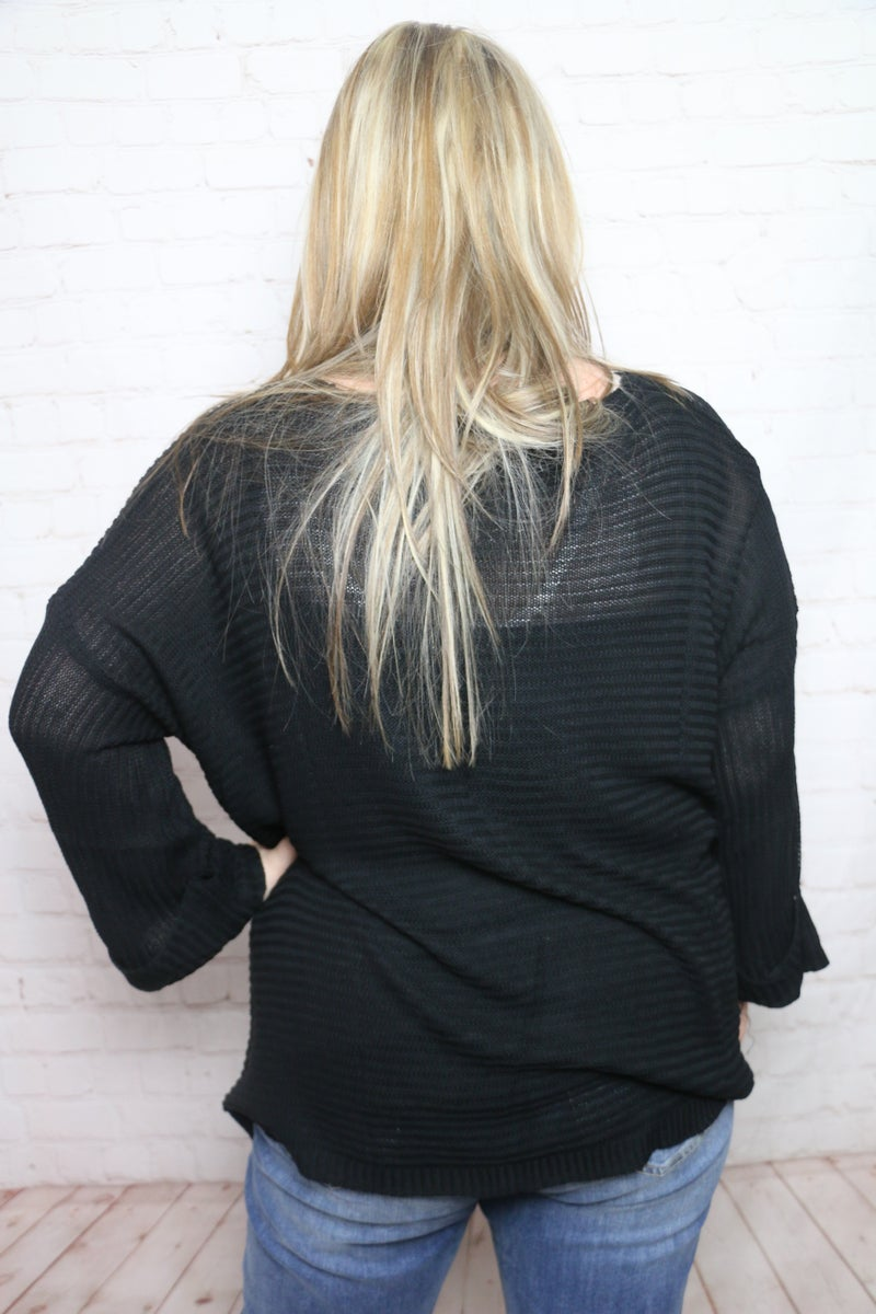 It's the Limit Thin V-Neck Sweater in Multiple Colors - Sizes 4-20