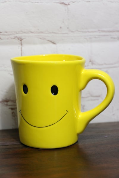 I'm Feeling Happy Yellow Smiley Face Mug