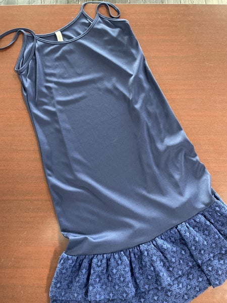 Navy Tiered Lace Extender - Size Small