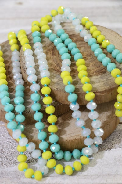 Flounder Point Of Perfection Beaded Necklace