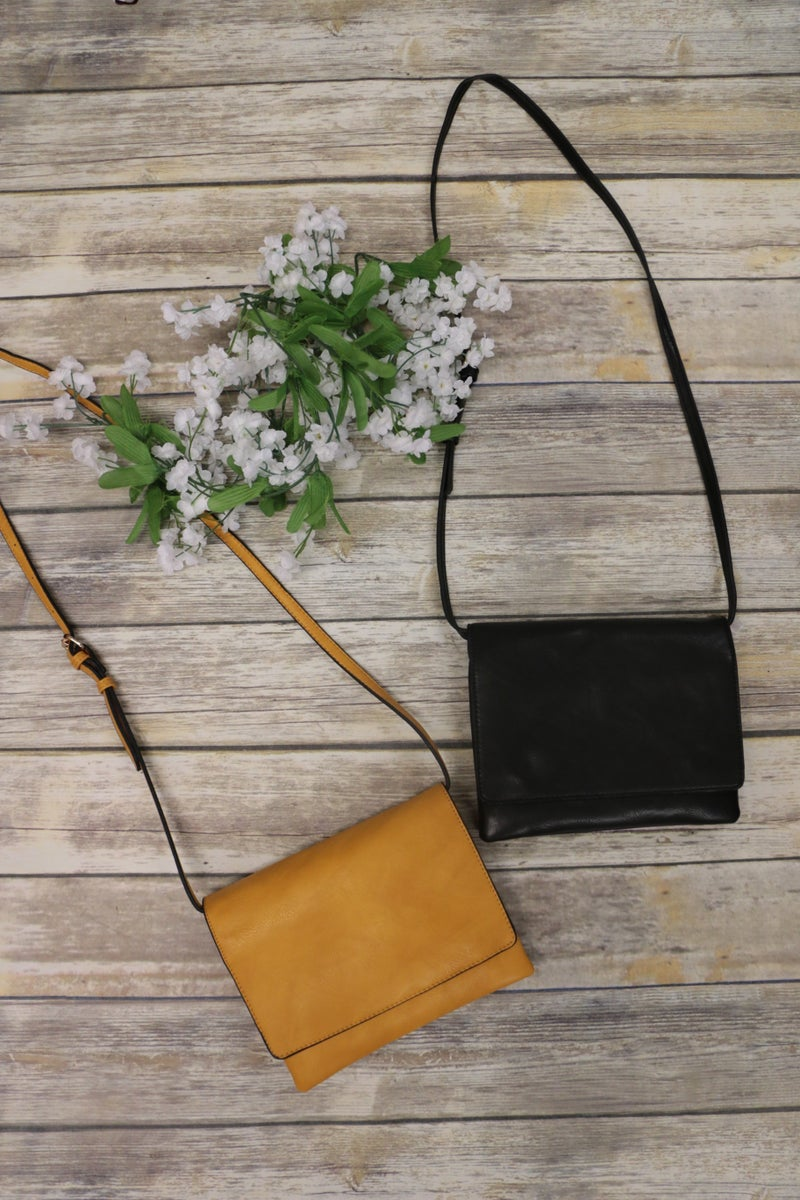 Quick To Leave Crossbody Purse in Multiple Colors