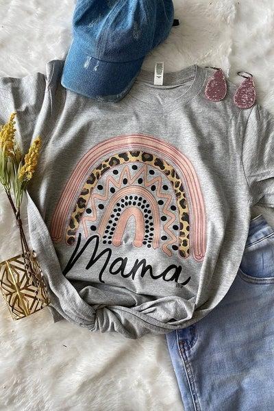 Mama Rainbow Graphic Tee ***PREORDER*** - Sizes 4-20