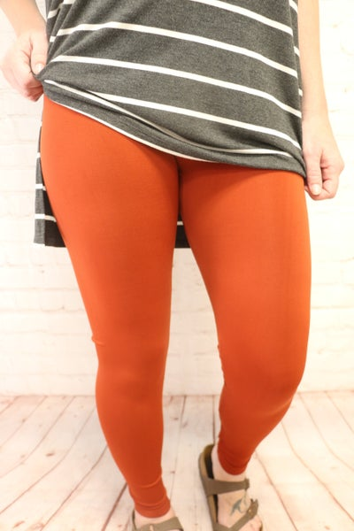 The Katy Nylon Seamless Full Length Leggings -Multiple Colors - Sizes 4-20