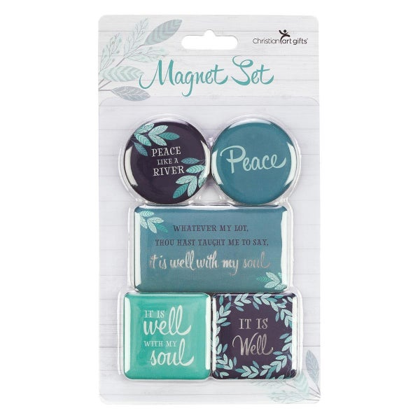 """""""It Is Well"""" Magnet Set"""