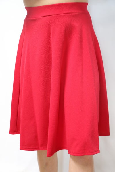 Find Your Truth Red Circle Skirt - Sizes 4-10