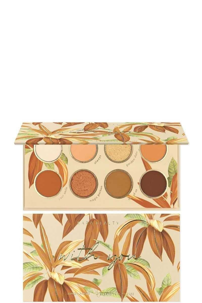 Tropical Eyeshadow Palettes in Multiple Colors