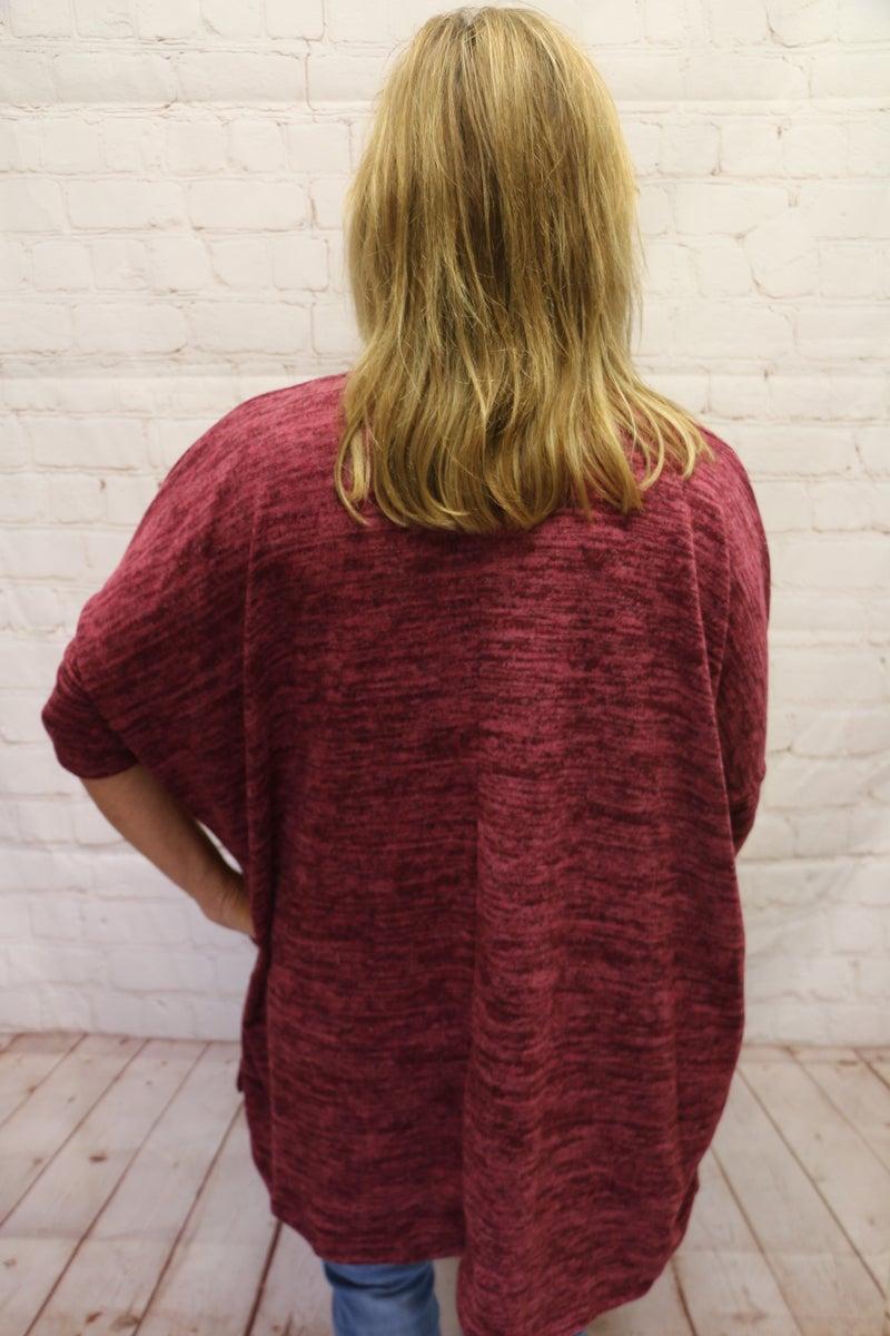 Ultimate Softness Hacci Tunic with Pockets in Multiple Colors - Sizes 4-12